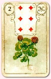Lenormandkarte Klee